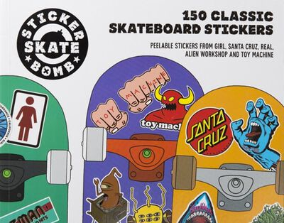 150 Classic Skateboard Stickers