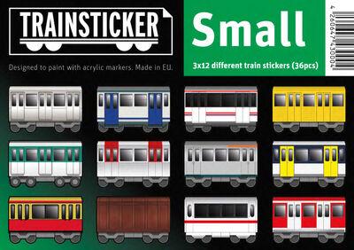 Trainsticker Set S (A7) 36 pcs
