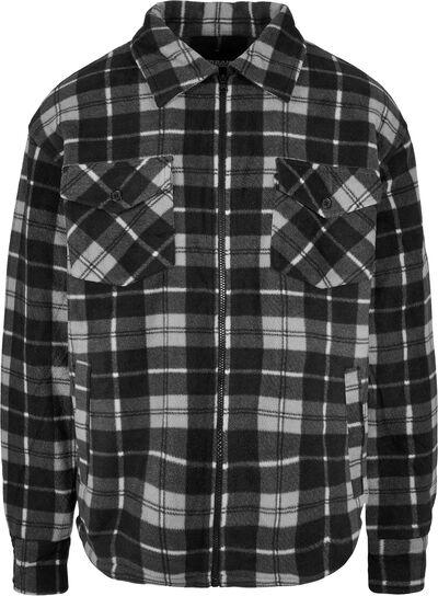 Plaid Teddy Lined Shirt