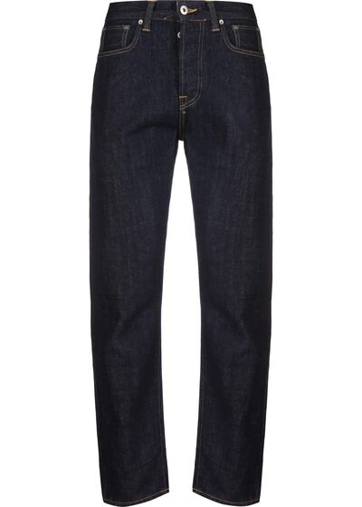 ED-45 Loose Tapered Red Listed Selvage Denim