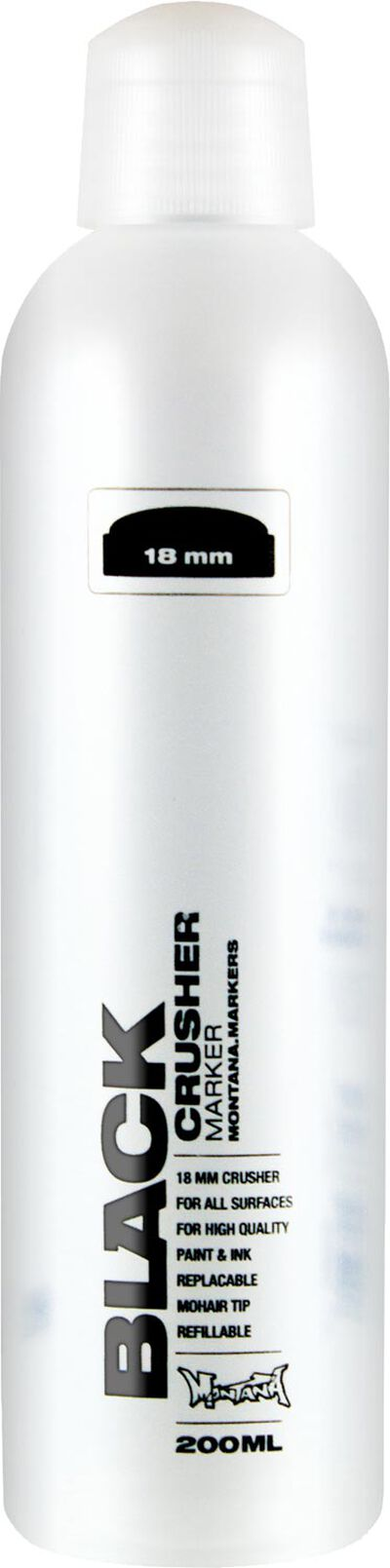 Black 200 ml 18 mm Crusher