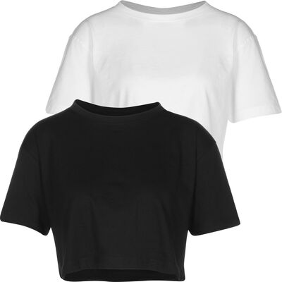 Ladies Short Oversized 2-Pack