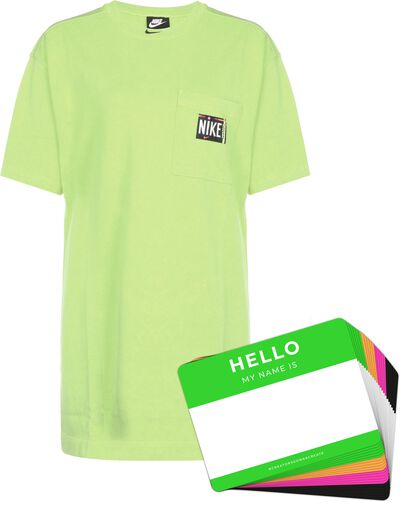 Nike Wash Dress + HELLO Neon-Stickerpack   Green Pack