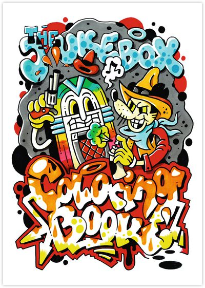 The Jukebox Coloring Book