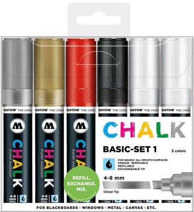 Chalk 4-8 mm Basic Set 1