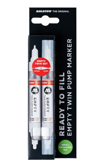 224 Empty Marker 2er Set