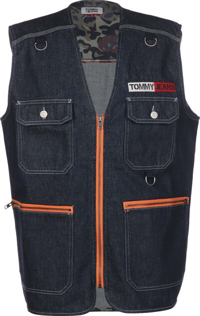 Denim Fishing Gilet