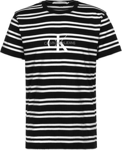 Striped Center Logo