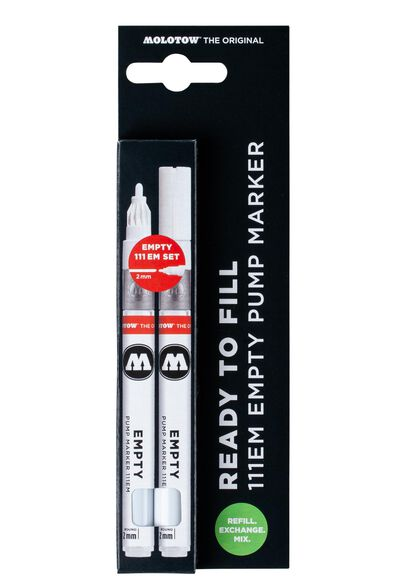 111 Empty Marker 2er Set