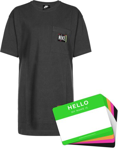 Nike Wash Dress + HELLO Neon-Stickerpack   Black Pack