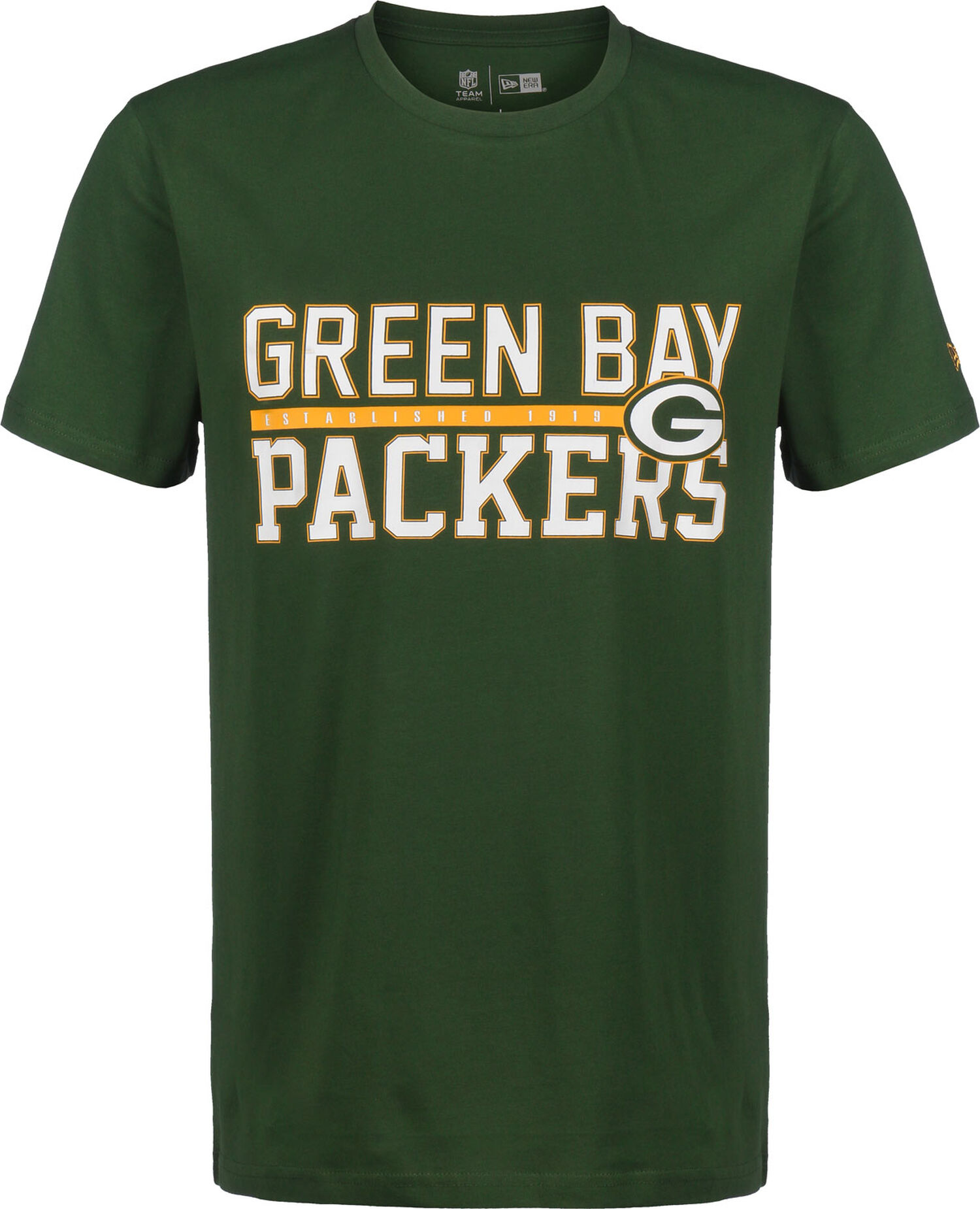 NFL Stacked Wordmark Green Bay Packers
