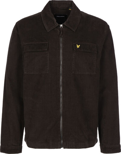 Cord Zipthrough Overshirt