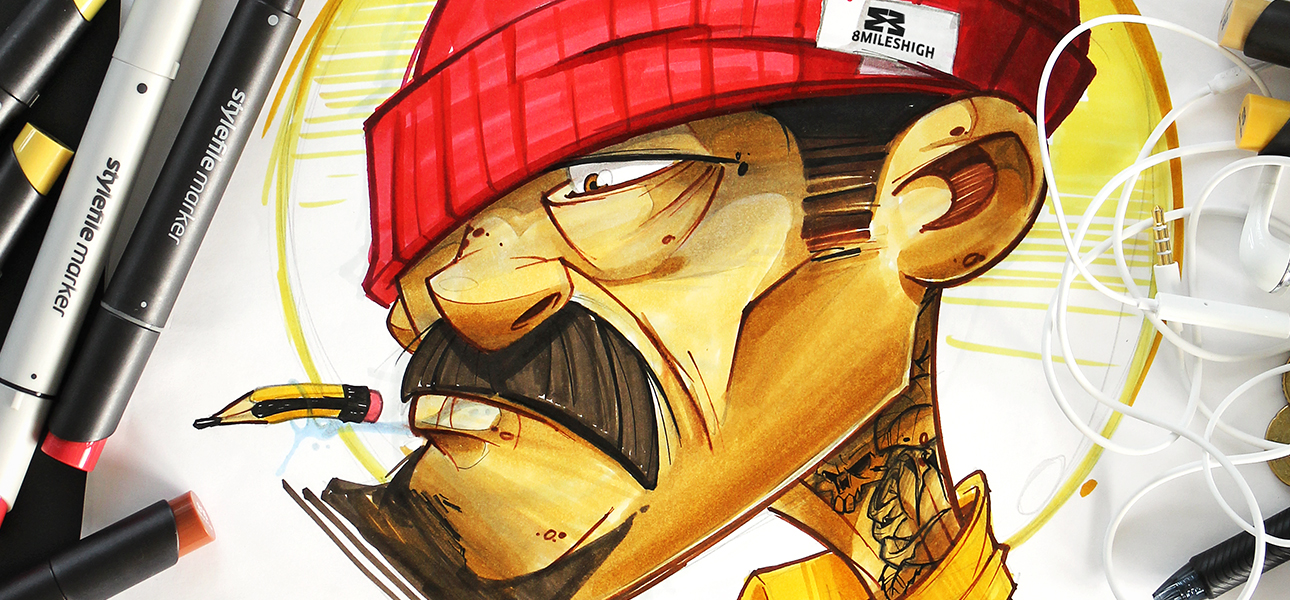 equipo de graffiti