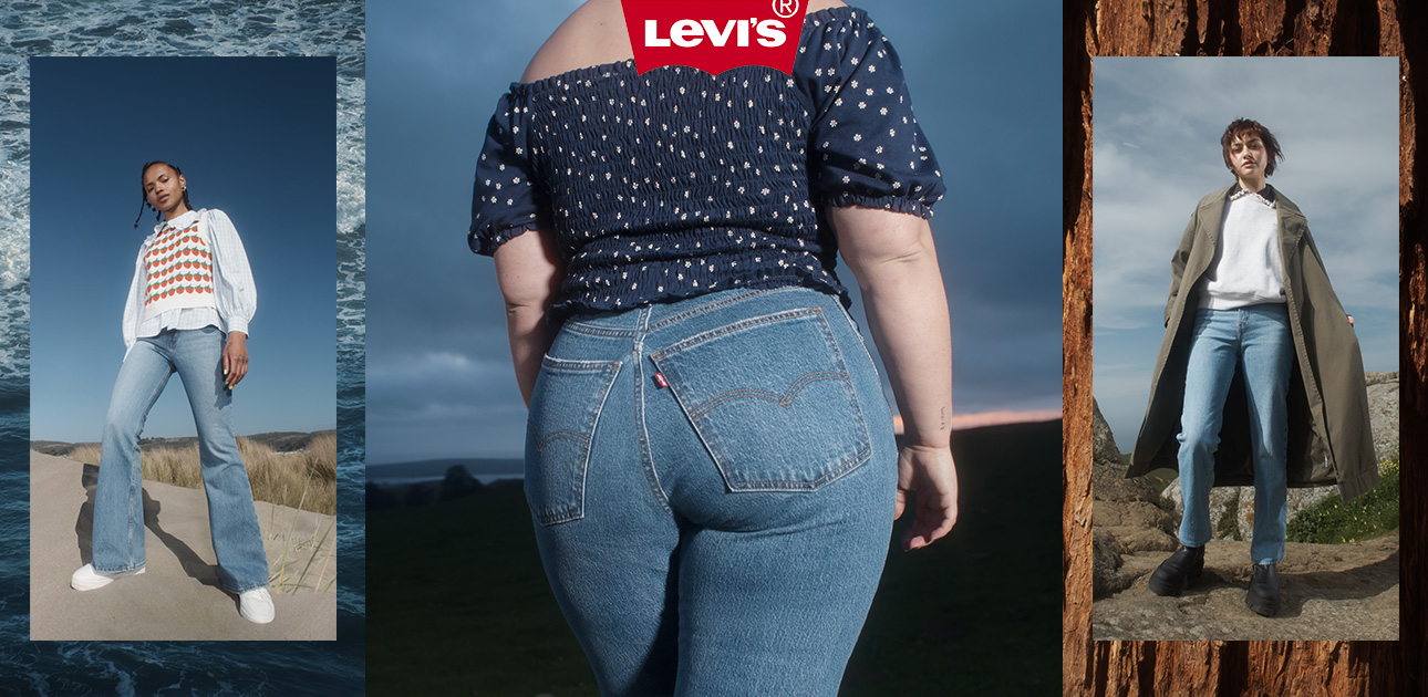 70s High collection from Levi's® for women
